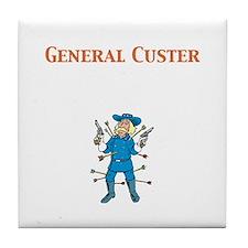 General Custer Tile Coaster