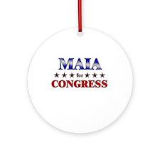 MAIA for congress Ornament (Round)