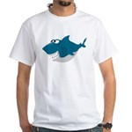 Cute Shark White T-Shirt