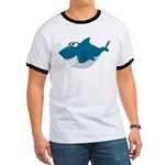 Cute Shark Ringer T