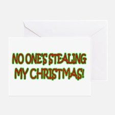 Christmas Stealer Greeting Card