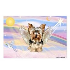 Clouds & Yorkshire Terrier Postcards (Package of 8