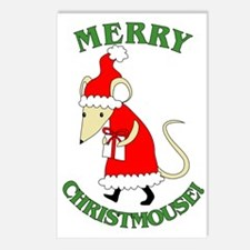 Merry Christmouse Postcards (Package of 8)