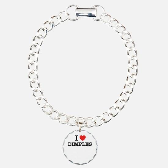 I Love DIMPLES Bracelet