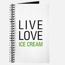 Live Love Ice Cream Journal
