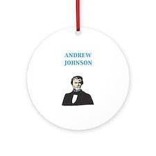 Andrew Johnson Keepsake (Round)
