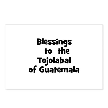 Blessings to the Tojolabal Postcards (Package o