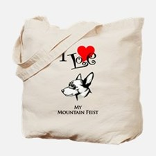 Mountain Feist Tote Bag