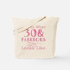 Cute 30th Tote Bag