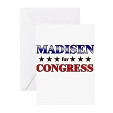 MADISEN for congress Greeting Cards (Pk of 10)