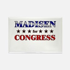 MADISEN for congress Rectangle Magnet