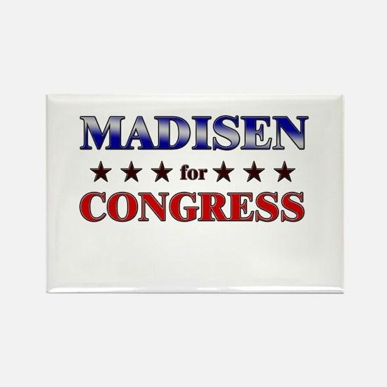 MADISEN for congress Rectangle Magnet