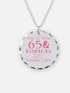 Unique 65th birthday women Necklace
