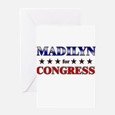 MADILYN for congress Greeting Card