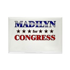 MADILYN for congress Rectangle Magnet