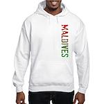 Maldives Stamp Hooded Sweatshirt