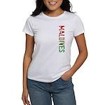 Maldives Stamp Women's T-Shirt