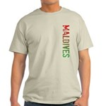 Maldives Stamp Light T-Shirt