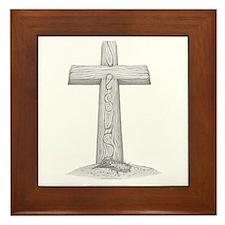 The Cross Framed Tile
