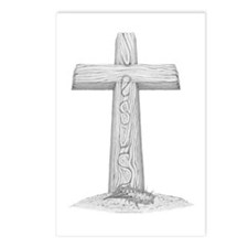The Cross Postcards (Package of 8)