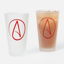 Red A Drinking Glass