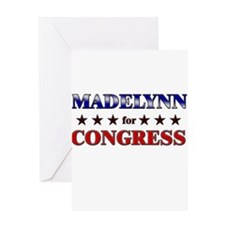 MADELYNN for congress Greeting Card
