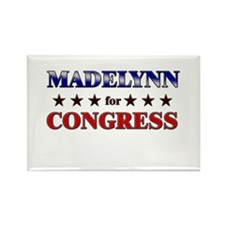 MADELYNN for congress Rectangle Magnet
