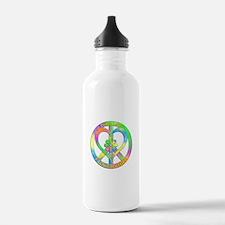 Peace Love Flower Chil Water Bottle