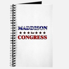 MADDISON for congress Journal
