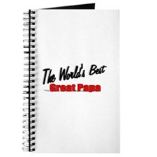 """The World's Best Great Papa"" Journal"