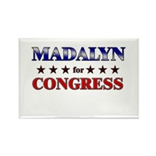 MADALYN for congress Rectangle Magnet