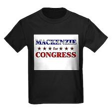 MACKENZIE for congress T