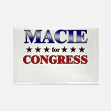 MACIE for congress Rectangle Magnet