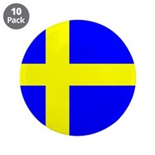 "How Swede it is! 3.5"" Button (10 pack)"