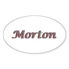 Morton Oval Decal