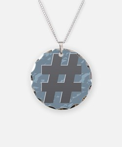 Hash Tag - Pound Necklace