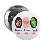 Surfing Peace Love Surf Surfboard 2.25