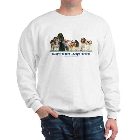 Shih Tzu Christmas Adopt Sweatshirt
