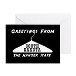 South Dakota - The Hanger State Greeting Card