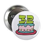 32nd Birthday Cake 2.25