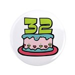 32nd Birthday Cake 3.5
