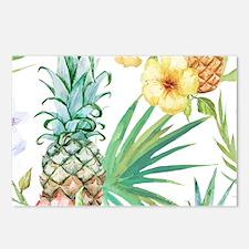 Vintage Flowers Postcards (Package of 8)
