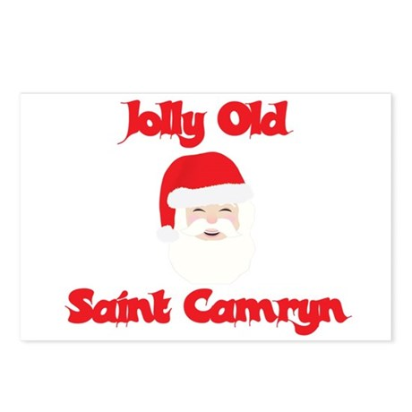 Jolly Old Saint Camryn Postcards (Package of 8)