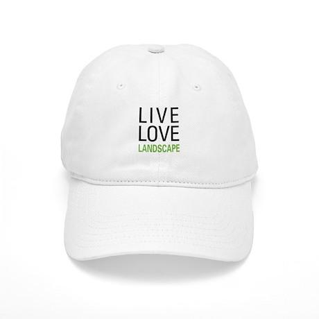 Live Love Landscape Cap