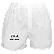 LYLA for congress Boxer Shorts
