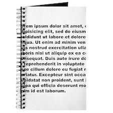 Lorem ipsum Journal