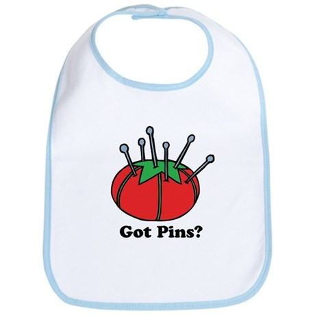 Got Pins? Pin Cushion Bib