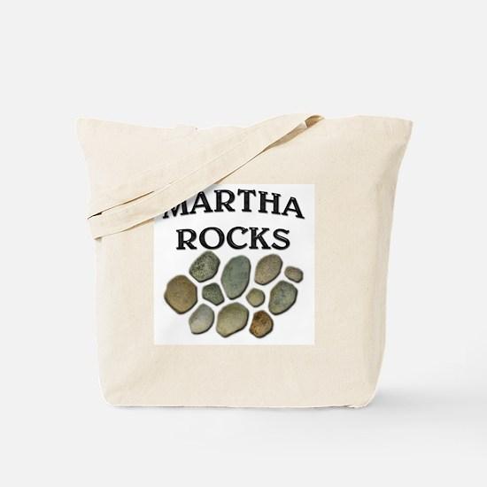 Martha Rocks Tote Bag