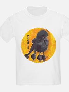 Black Standard Poodle 2 T-Shirt