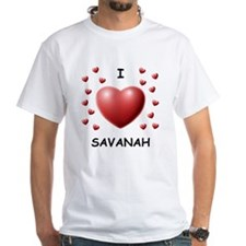 I Love Savanah - Shirt